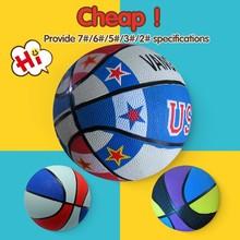Bulk costomize best basketball design,sport rubber made basketball