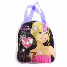 New hot 2015 summer beach bag transparent jelly bag women's handbag