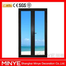 Aluminum glass door/commercial double glass doors/aluminum door frame