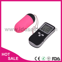 silicone led screen wireless remote controlled sex video anal bullet eggs Vibrator