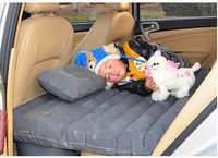 Fast Shipping Thick PVC Travel Back Seat Air Mattress Inflatable Car Air Bed