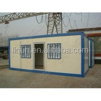2015 ISO certificates new type container house hotel furnished