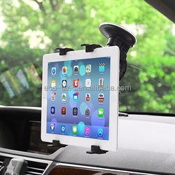"""2015 New Design Windshield Suction Car Mount Stand For iPhone iPad DVD GPS and other 4-10"""" Devices Universal Tablet Car Holder"""