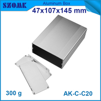 2015 wall mounting aluminum anodizing case for electronics