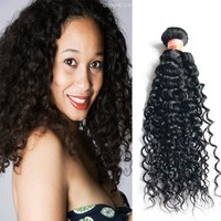 16 inch natural black kinky curly 2015 new products free sample 100% virgin brazilian hair