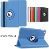 Quality 360 ROTATION Lychee Texure PU Leather Case with Stand For IPAD MINI 4 BUSINESS ANTI-SHOCK CASE
