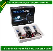 Car accesssories slim Canbus h1 h3 h4 h7 h8 h119004 9005 9006 9007 35w 55w 75w 100w xenon hid kit