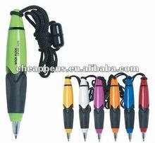 plastic promotional lanyard pen