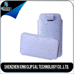 Hot pouch Style PU Leather Cell Phone Cases For samsung s5 from china wholesale