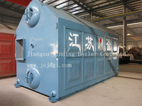 Industrial Horizontal Type Water Tube Automatic Steam Boiler gas oil fired