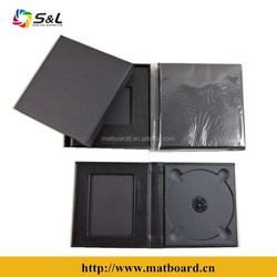 Leather cd bags 1 pic 1 dic genuine leather bag guangzhou manufacturers