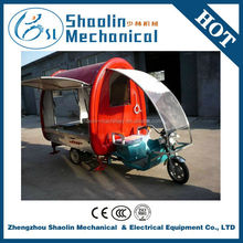 Multi-function tricycle mobile food cart with hot sale
