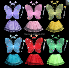 2015 Hot 6 Colors Hairy Party Butterfly Wings ,Fairy Wings For Girls Wholesale HSCC-0067
