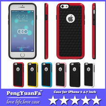 Bumblebee Dual color Hybrid PC Edges & Soft TPU Hard Case Cover For Apple iphone 6 4.7inch
