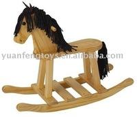 wooden rocking horse for kids