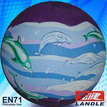 Standard Size outdoor basketball equipment