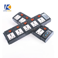 5 Outlet Lightning Surge Protector Power Strip/ Individual Switch