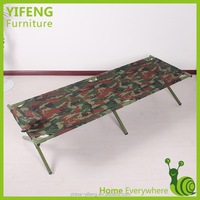 space-saving lightweight army camping folding bed