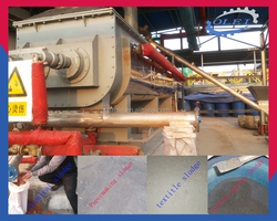 high efficiency drying equipment sludge paddle dryer for saling