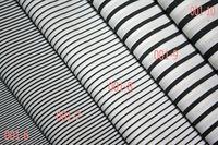 China mill stock cotton stripe poplin