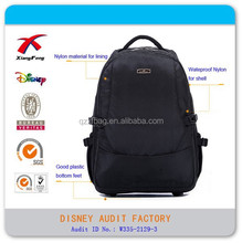 Travel Carry-On Backpack, Business Style Laptop Backpack Bag with Trolly Wheel