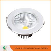 New Design CE & RoHS Certificated Die Casting Aluminium LED COB Down Light