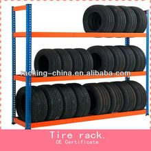 China Top supplier Car Accessories display rack/shelf for Automotive,4S shop Tyre Rack
