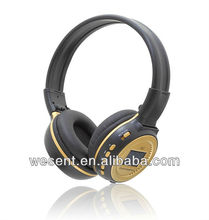 2012 headset mp3 player with custom logo from factory