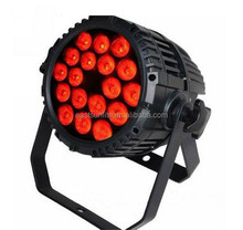Perfect Outdoor LED Stage Lightings,IP65 18*10W LED RGBW 4-in-1 Par Light ,DMX 8CH