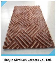cheap polyester handmade carpet rugs