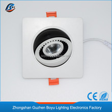 high output 7w 9w square cob led 3 year warranty high power downlight