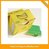 Fancy color paper currency plastic cube note plain white paper