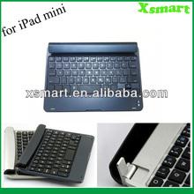 For Apple iPad mini New Arrival Aluminum Bluetooth Wireless Keyboard Case Cover