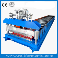 Automatic Corrugated Thin Plate Colored Steel Roof Panel Roll Forming Machine