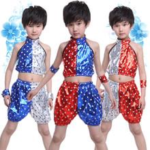 children's costumes boys and girls Theatrical Costume Children hip-hop jazz modern dance dress