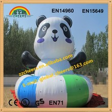 Inflatable water sport toys, funny inflatable water game inflatable water Panda
