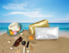 Top Grade Custom Paillette Nylon Fabric Waterproof Makeup Bag/Toiletry Bag/Travel Organizer Bag