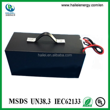60v 40ah battery for electric vehicles lithium rechargeable