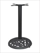 Wholesale direct from unique 44cm diameter cast iron table base metal table legs furniture leg HS-A103