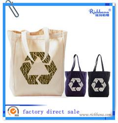 promotional plain canvas tote bag(factory direct sale)