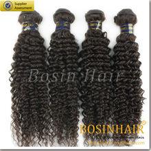 6A grade100% unprocesed natural asian human kinky hair