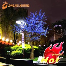 Excellent Cherry blossom outdoor led tree lights/ lamp Holiday LED CHERRY blossom tree for street
