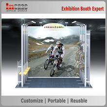 Graphic changeable exhibition booth for wholesales