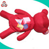 red bear animal shaped pencial case for students