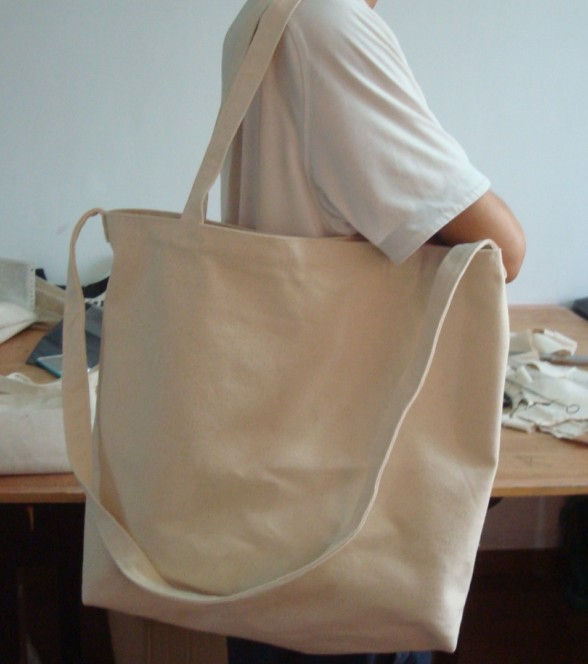 eco friendly recyclable large size muslin shopping bag
