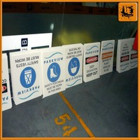 China factory custom plastic printing corriboard for sale