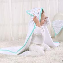 LAT fashion children cartoon bath towel stock home textile embroidery square towel