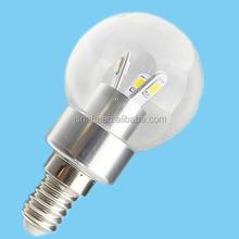 220v 3w led light bulb e27 e14