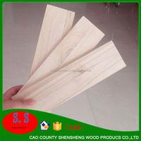 Paulownia finger jointed trim wood board
