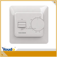 room thermostat electrical for floor heating CE E73, adjustable thermostat temperature control